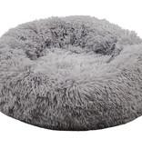 Sajan Sajan Hondenmand 60cm - Donut - Superzacht - Wasbaar - Lichtgrijs