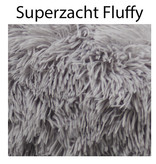 Sajan Sajan Hondenmand 70cm - Donut - Superzacht - Wasbaar - Lichtgrijs