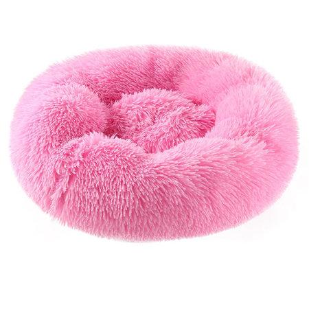 Sajan Sajan Hondenmand 50cm - Donut - Superzacht - Wasbaar - Roze