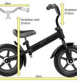Sajan Sajan  Loopfiets - 12-inch - Zwart