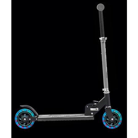 Sajan Sajan Kinderstep - LED Wielen - Aluminium - Blauw