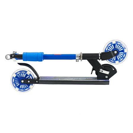 Sajan Sajan Kinderroller - LED Räder - Aluminium - Blau