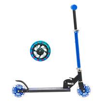 Sajan Kinderroller - LED Räder - Aluminium - Blau
