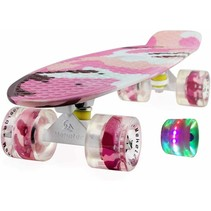 2Cycle Skateboard - LED Wielen - 22.5 inch - Girl