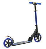 2Cycle Sajan Step - Aluminium -  Grote Wielen - 18cm -Blauw