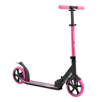 Sajan Roller - Aluminium - Große Räder - 18cm -Rosa