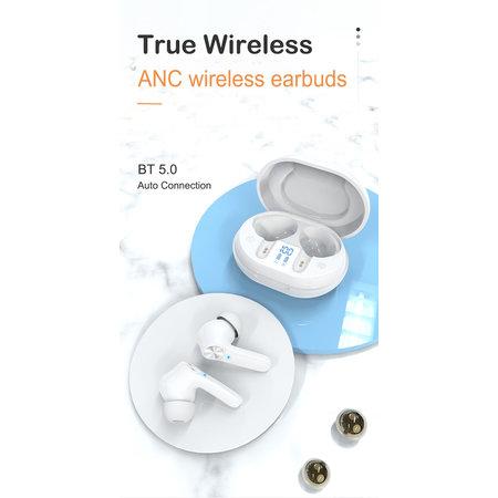 Sajan Kabellose Bluetooth-Ohrhörer mit aktiver Geräuschunterdrückung