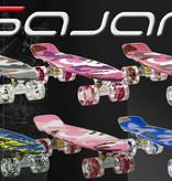 Sajan Sajan Skateboard - LED Wielen - 22.5 inch - Space Blauw