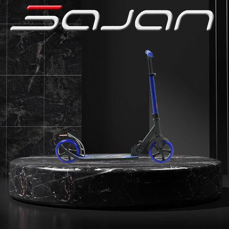 2Cycle Sajan Roller - Aluminium - Große Räder - 18cm -Blau