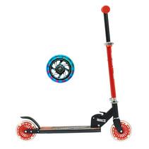 Sajan Kinderroller - LED Räder - Aluminium - Rot