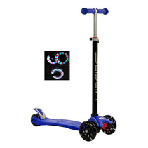 Sajan Kinderscooter - Dreiradscooter  - LED-Räder - Blau