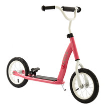 2Cycle Scooter - Luftreifen - 12 Zoll - Rosa