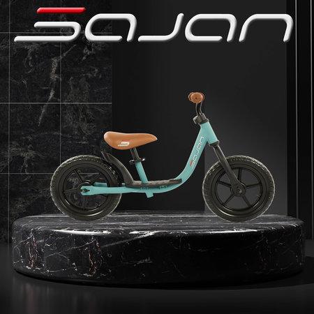Sajan Sajan Loopfiets - Mat-Turquoise - 2e