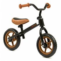 2Cycle Loopfiets - Zwart-Bruin