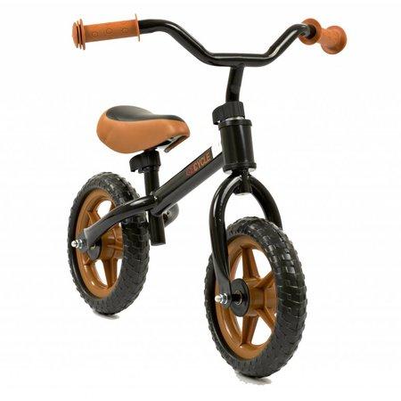 2Cycle 2Cycle Loopfiets - Zwart-Bruin