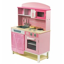 P&M  Kinderkeuken - Hout - Roze