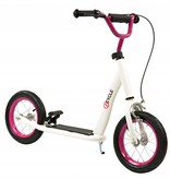 2Cycle Step Wit-Roze met Luchtbanden 12 inch (1557)