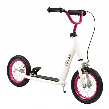 2Cycle 2Cycle Step - Luchtbanden - 12 inch - Wit-Roze