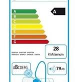 Bosch Bosch BSG6A110 Trommelstofzuiger 4l 600W A Zwart, Rood stofzuiger
