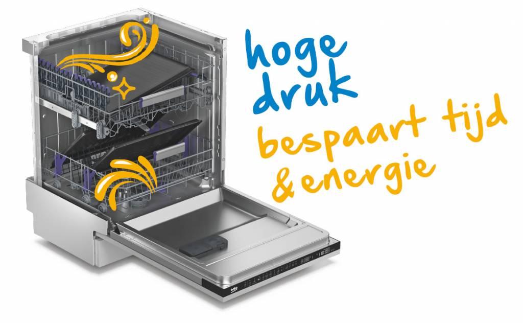 Beko Beko DIN28420 SELECTIVE LIJN Volledig integreerbare vaatwasser A++, 46dB
