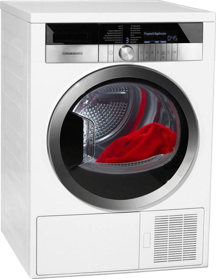 Grundig GRUNDIG GTN 48250 GC Wasdroger warmtepompdroger