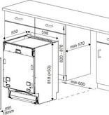 Beko Beko DIN 26410 voll. inbouw vaatwasser A+ | 48dB