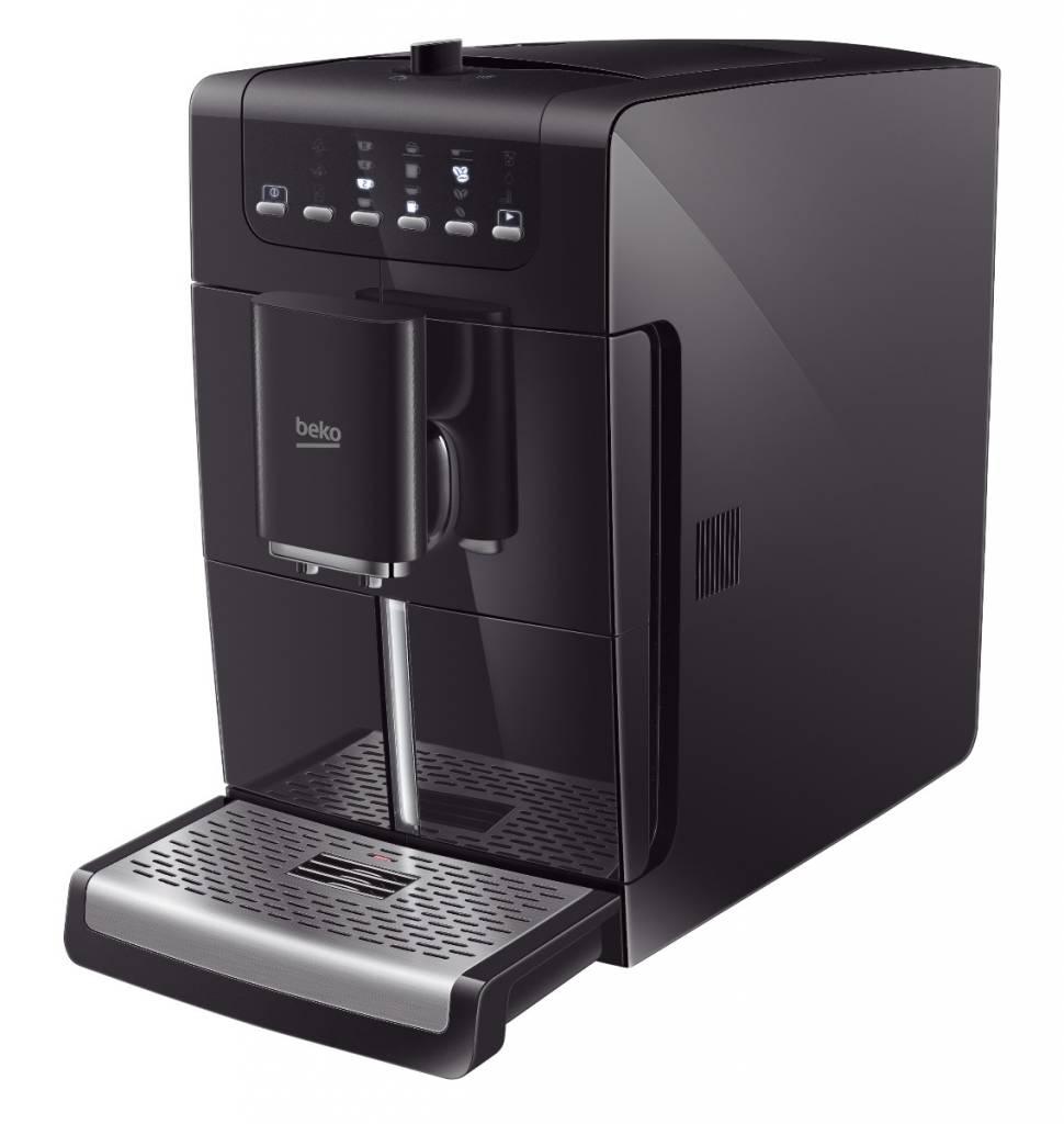Beko Beko CEG 7425 BLACK - Volautomatische espressomachines RVS/ZWART - Bonenmachine - Met Melkopschuimfunctie