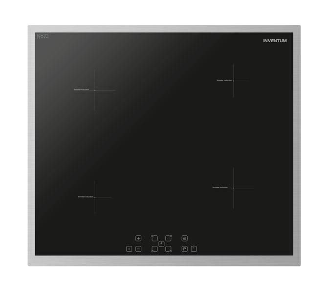 Inventum Inventum IKI6032 Inbouw inductiekookplaat Perilex