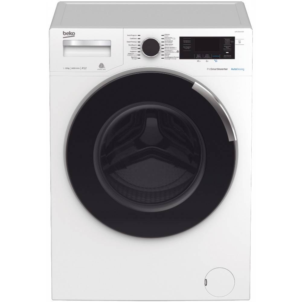 Beko Beko WTV8744XDOS SELECTIVE   8kg   1400 toeren   autodosering   Wasmachine