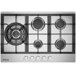 Inventum Inventum IKG7523WGRVS (75 cm) Gas Hob - Stainless Steel