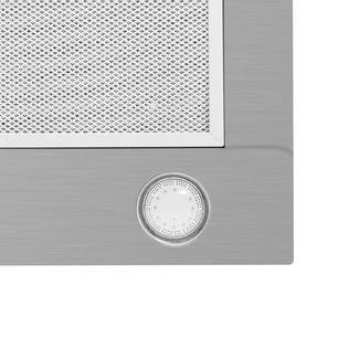 Inventum Inventum AKI6000RVS inbouw afzuigunit, 60 cm, LED