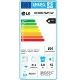 LG LG RC80U2AV3W | 8kg vulgewicht