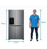 LG Koelkast Amerikaans LG GSJ470DIDV Door-in-Door | A+