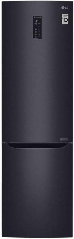 LG Koel/vries combi LG GBB 60 MCFFS   Zwart   A+++