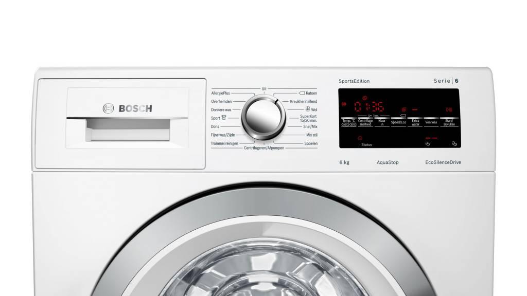 Bosch Bosch WAT28493NL| Serie 6 | 8kg | 1400 toeren Wasmachine