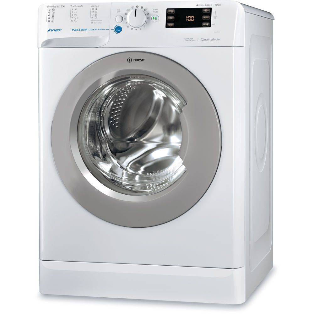 Indesit Indesit wasmachine BWE 81484X WSSS NL| 8KG | 1400 TOEREN