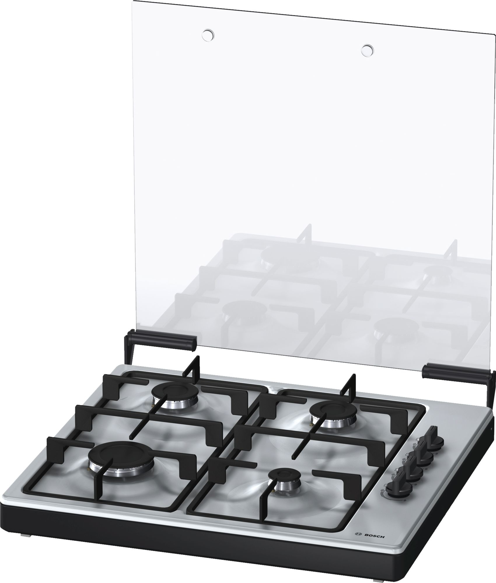 Bosch BOSCH PBPDC5Y60N Vrijstaande Kookplaat