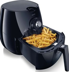 Philips BLACK FRIDAY Philips Viva Airfryer HD9220/20 - Hetelucht friteuse - Zwart