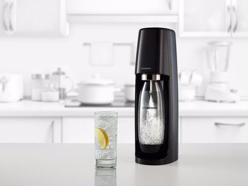 Sodastream SodaStream Spirit Bruiswatertoestel - Zwart - Inclusief CO2-Cilinder