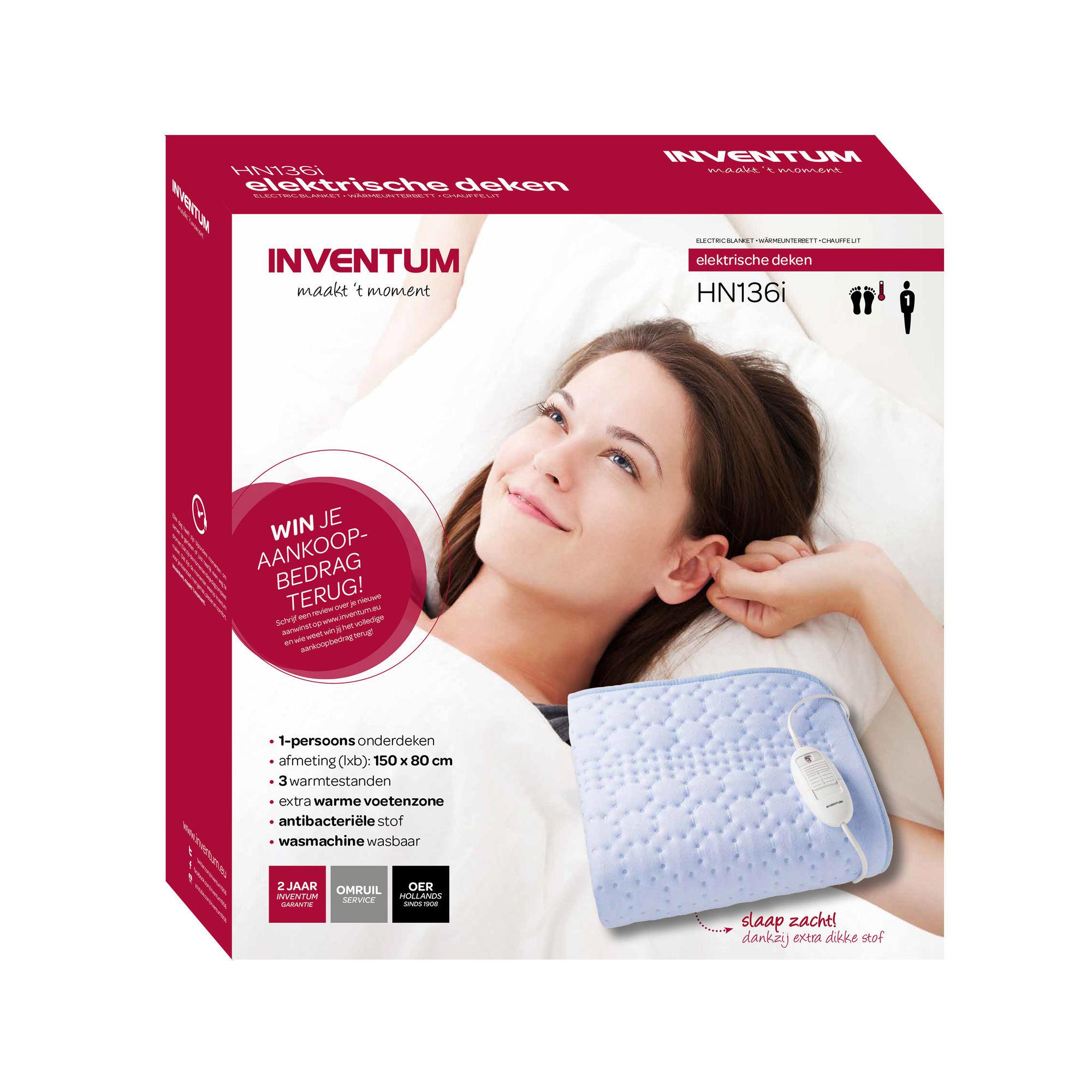 Inventum HN136i Elektrische deken INVENTUM