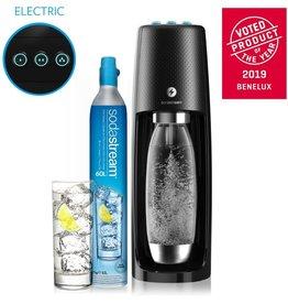 Sodastream BLACK FRIDAY - SodaStream Spirit One Touch Bruiswatertoestel - Elektrisch - Zwart