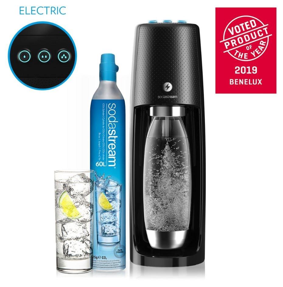 Sodastream SodaStream Spirit One Touch Bruiswatertoestel - Elektrisch - Zwart