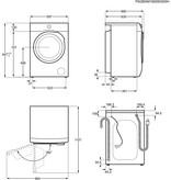 AEG AEG L6FBN94GP Wasmachine 9KG