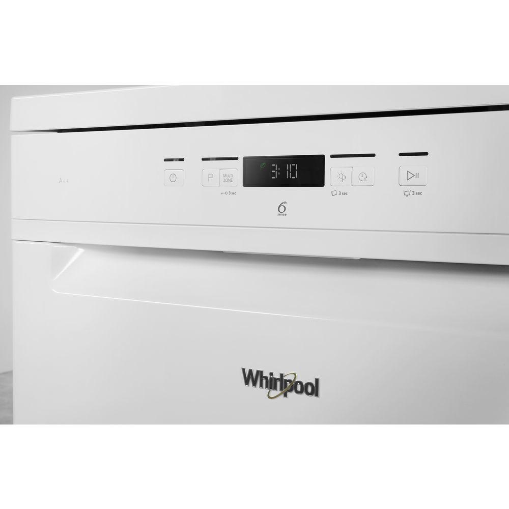 Whirlpool Whirlpool WFC 3C22 P Vaatwasser - Vrijstaand - 60cm