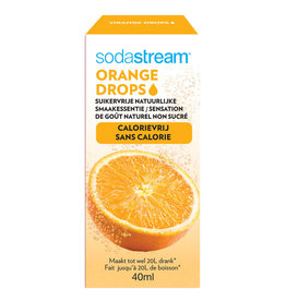 Sodastream SodaStream Fruit Drops siroop - 40 ml - orange