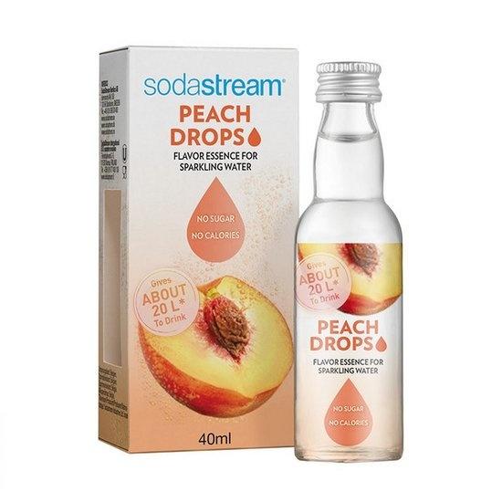 Sodastream SodaStream Fruit Drops siroop - 40 ml - peach