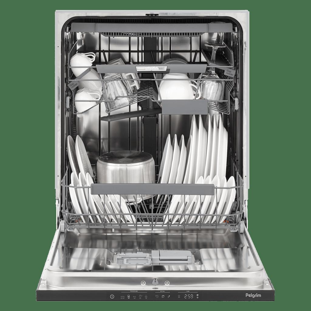 Pelgrim Pelgrim GVW840XL Vaatwasser XL, 86 cm hoog en extra besteklade