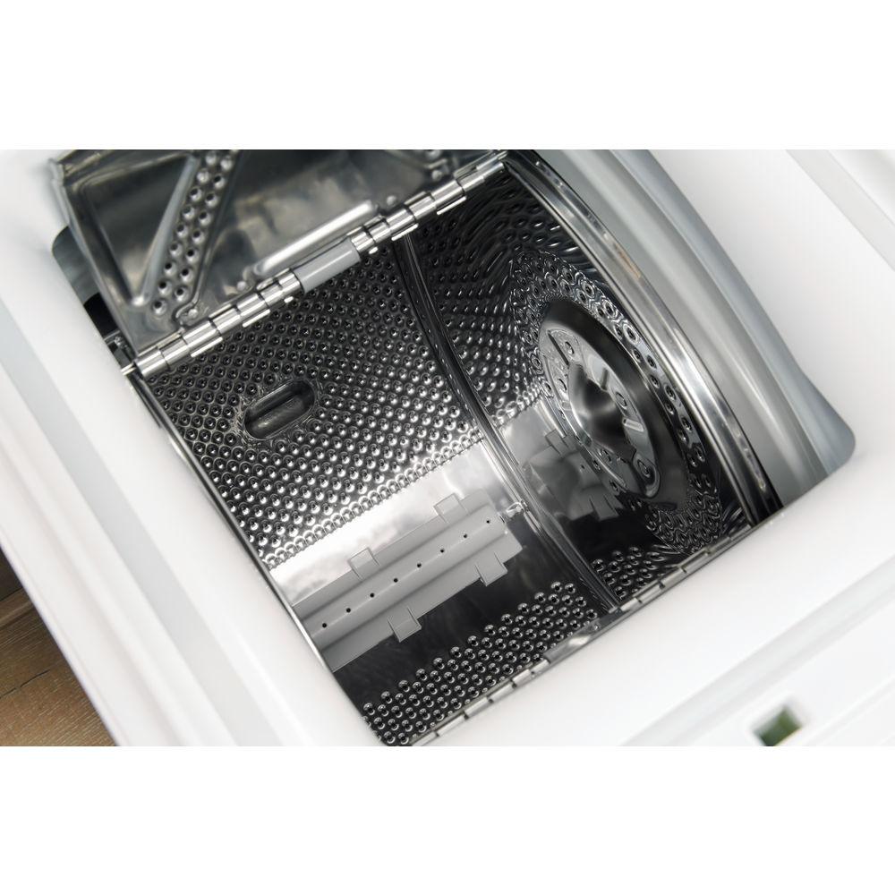 Indesit Indesit vrijstaande bovenlader wasmachine: 6 kg