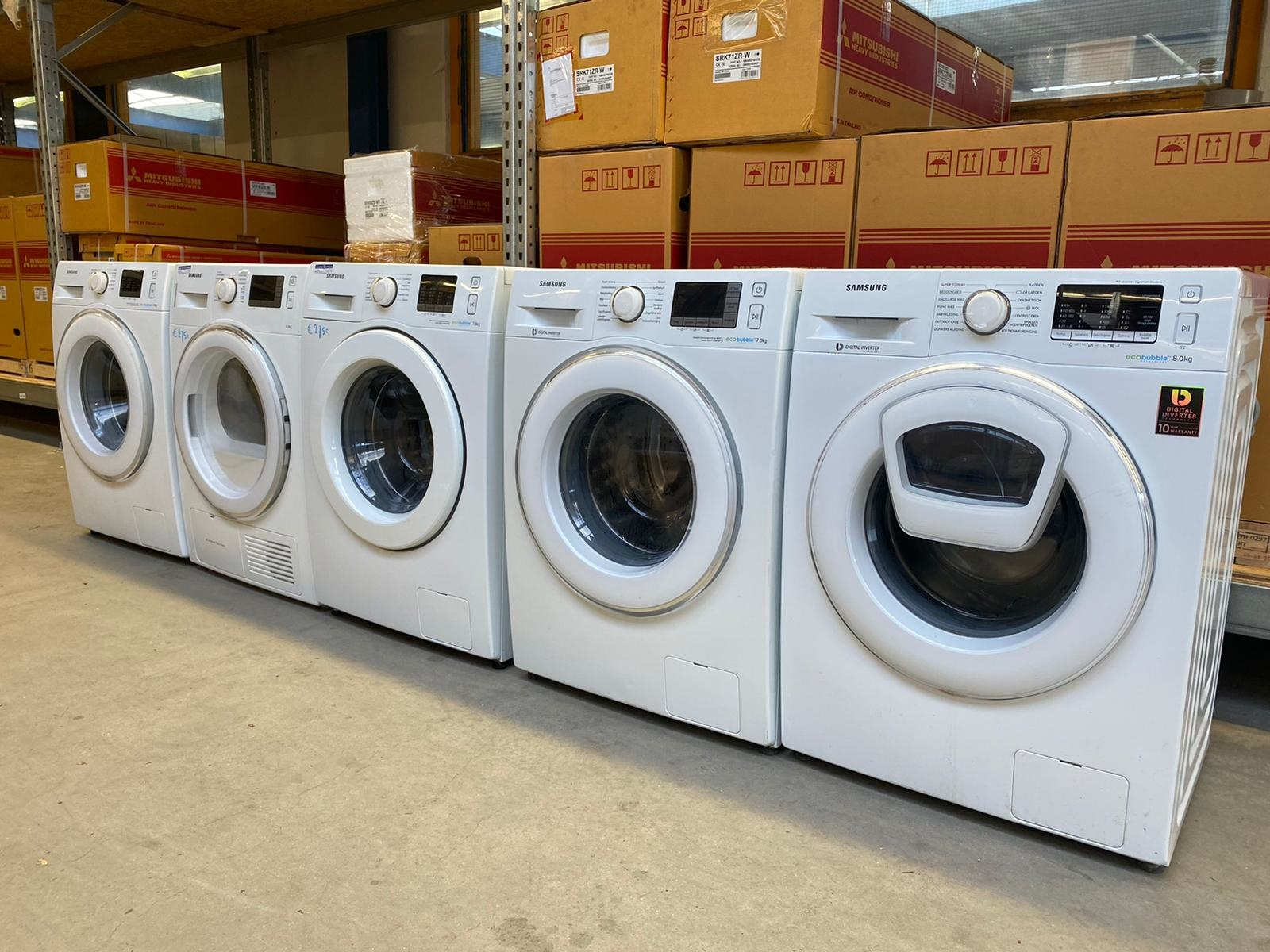 Samsung 2de Hands Wasmachines