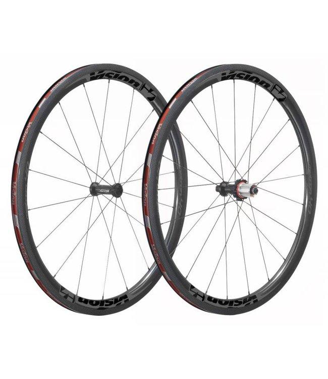 Vision Metron 40 SL hjulsæt - Fuld carbon clincher